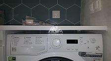 Установить стиральную машину соло Hotpoint-Ariston VMUF 501 B