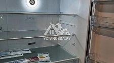 Установить новый отдельностоящий холодильник centek
