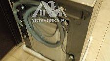 Стандартная установка стиральной машиной соло