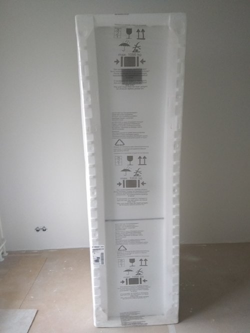 Перенавесить двери двери на холодильнике Bosch KGN39AW31R