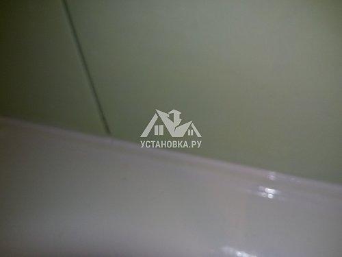 Заменить герметик на ванне