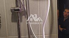Установить проточный водонагреватель с подключением к смесителю с душевой лейкой