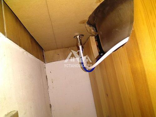 Демонтировать и установить фильтр питьевой воды гейзер