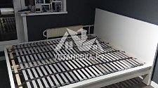 Собрать двуспальную кровать МАЛЬМ