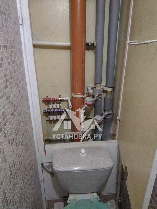 Демонтировать и проложить трубы водоснабжения и канализации