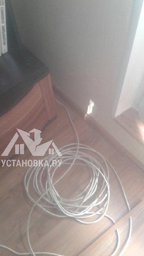 Проложить кабель антенный