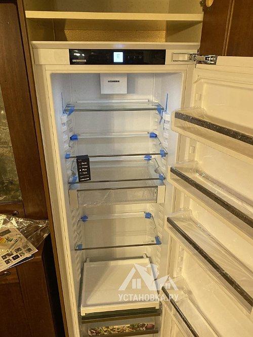 Установить встраиваемый холодильник Liebherr