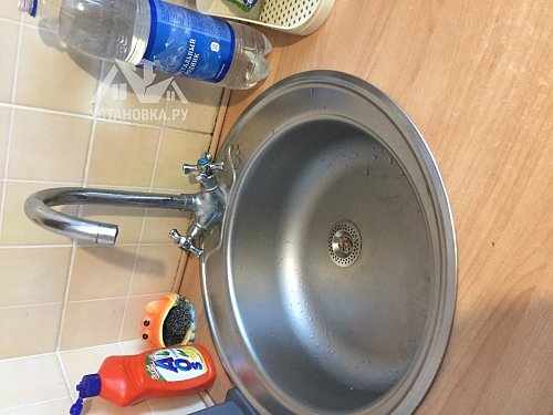 Демонтировать и установить смеситель на мойке Grohe