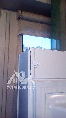 Работа по установке холодильника Liebherr