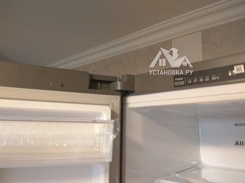 Перевесить двери на холодильнике в районе Тушинской
