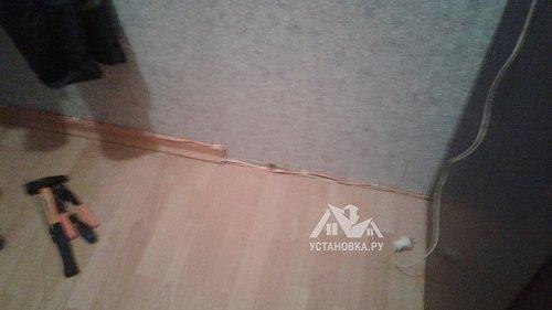 Проложить интернет кабель по квартире