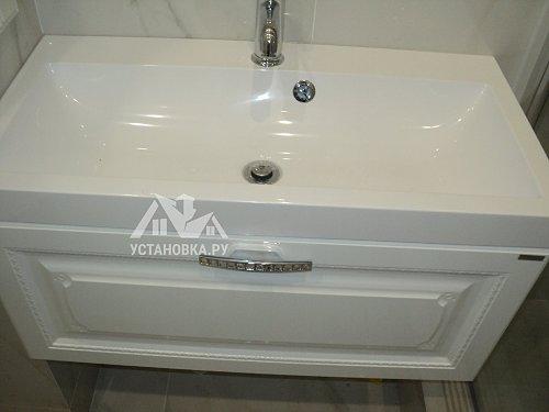 Установить душевую дверь Cezares Elena B11, 60/70 C Cr R