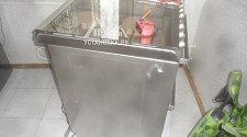 Штатная установка газовой плиты Candy TRIO 9501/1 X