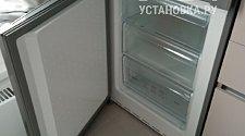 перевесить двери на новом холодильнике Bosch KGV36XK2AR