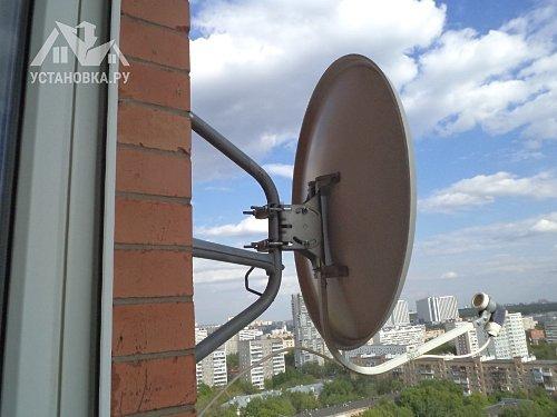 Демонтировать спутниковую антенну НТВ ПЛЮС