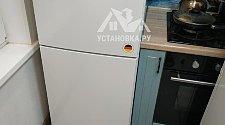 Стандартная установка холодильника и перенавес дверей холодильника (без дисплея)