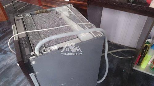 Установить встраиваемую посудомоечную машину BOSCH SMV66TX06R