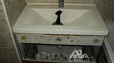 Устранить засор тросом в ванной