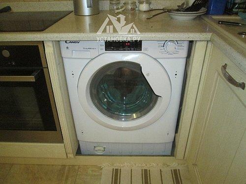 Установить фасад на стиральную машину