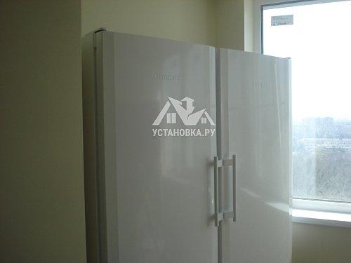Установить холодильник Liebherr SBS 7212