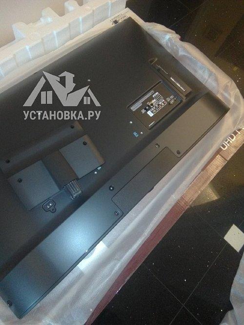 Установить телевизор LG 43 дюйма
