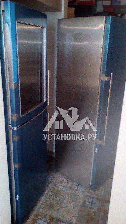 Установить и подключить холодильник Liebherr SBSes 7165