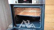 Установить электрический духовой шкаф Bosch HBF514BS0R