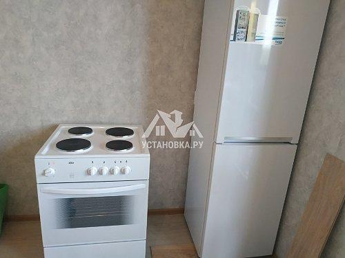 Установить отдельно стоящий холодильник Беко
