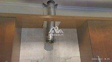 Демонтировать и установить крупногабаритную каминную вытяжку Jetair Flavia 90 IX