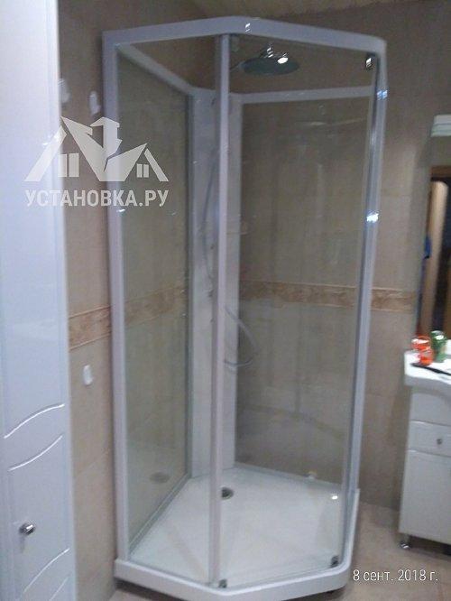 Установить душевую кабину угловую Ido Showerama