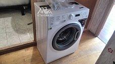 Установить отдельностоящую стиральную машину Hotpoint-Ariston VMSF 6013 B