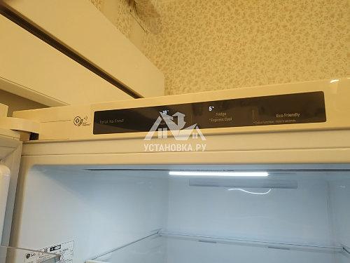 Установить холодильник и перевести на нём двери в районе Первомайской