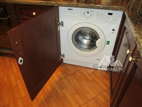 Установить встраиваемую стиральную машину Electrolux EWG 147540 W