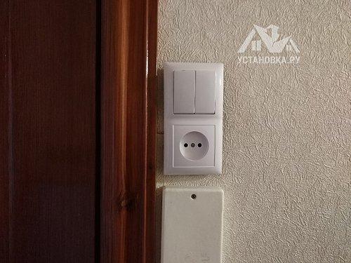 Установка внутреннего выключателя