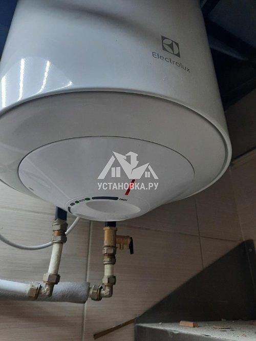 Установить новый накопительный водонагреватель Electrolux