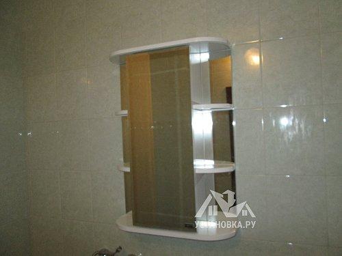 Установить шкафчик в ванной