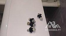 Демонтировать и установить отдельно стоящую стиральную машину в ванной комнате