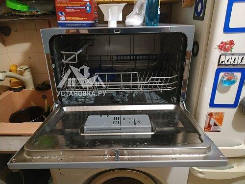 Установить и подключить посудомоечную машину Candy CDCP 6/ES-07