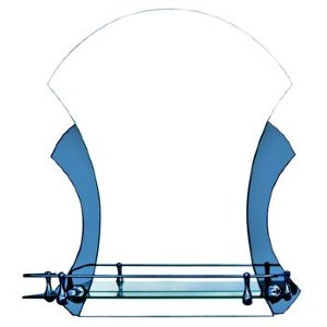 Зеркало ST №ВТ-07 с креплением 450 х 550 (В-С)