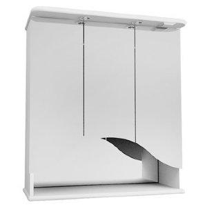 НЗ  Зеркало-шкаф ST 75 см ПРОМЕТЕЙ (с подсветкой)