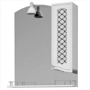 НЗ  Зеркало-шкаф ST 90 см ВЕГА 4 правый, с подсветкой