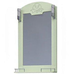 НЗ  Зеркало с 2-мя светильниками ST 65-2 см АУРА 3 (фисташка)