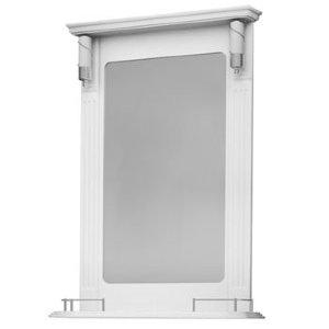 НЗ  Зеркало с 2-мя светильниками ST 65 см АУРА 3 (белый)