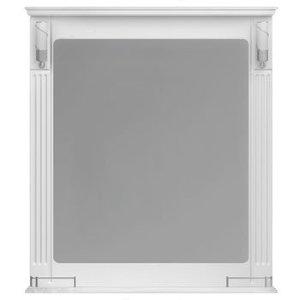 НЗ  Зеркало с 2-мя светильниками ST 85 см АУРА 3 (белый)