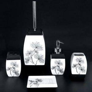 Набор для ванной из керамики ST-B80159 (5 предметов)