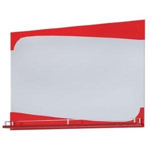 НЗ  Зеркало с полочкой ST МДФ 90 см КАЛЛИОПА 3 (красный)