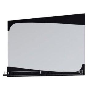 НЗ  Зеркало с полочкой ST МДФ 90 см КАЛЛИОПА 3 (чёрный)