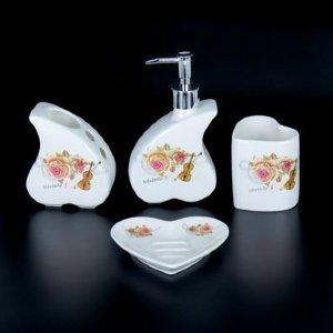 Набор для ванной из керамики ST-YU004-4 (4 предмета)