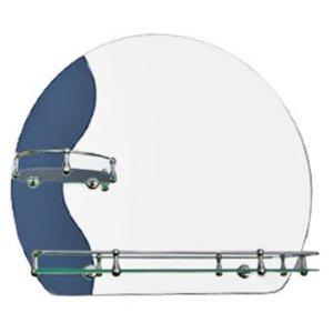 Зеркало ST №224Л с креплением 500 х 600 (комби)