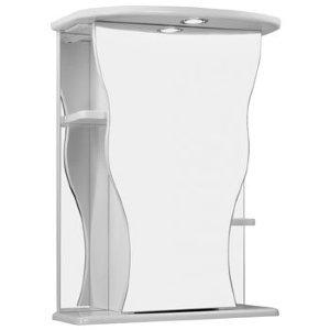 НЗ  Зеркало-шкаф ST 55 см ГЕЛИОС (с подсветкой, правый)